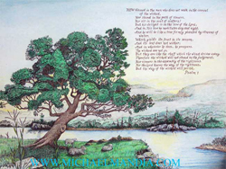Psalm 1 Tree Planted by the Rivers