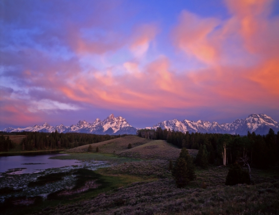 A New Morning at the Tetons with new mercies