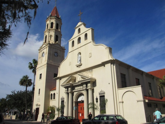 Oldest church in the whole USA from the 1500's...St. Augustine's