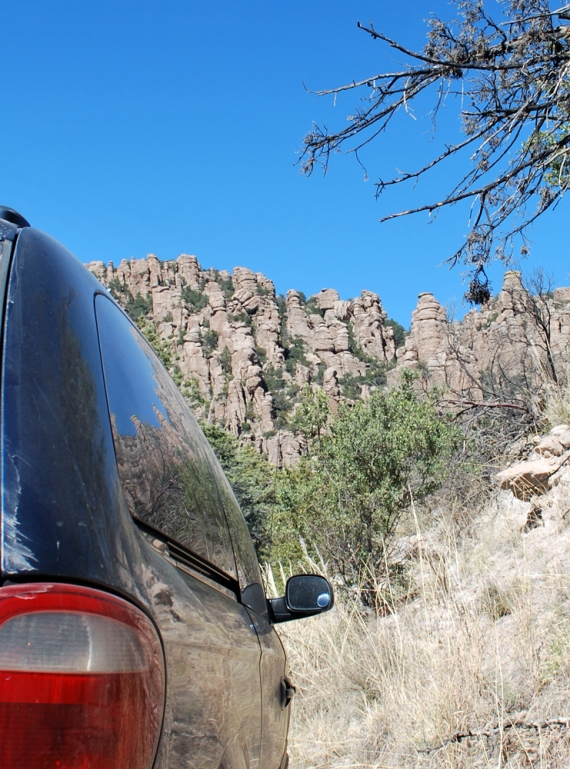 BigBlue at Chiricahua National Monument