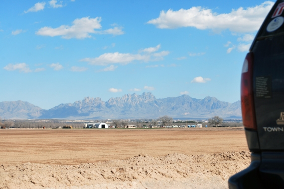 BigBlue with Organ Mountains in background