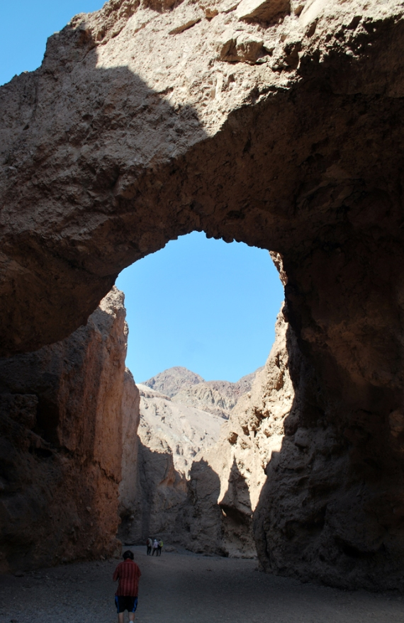 natural bridge death valley